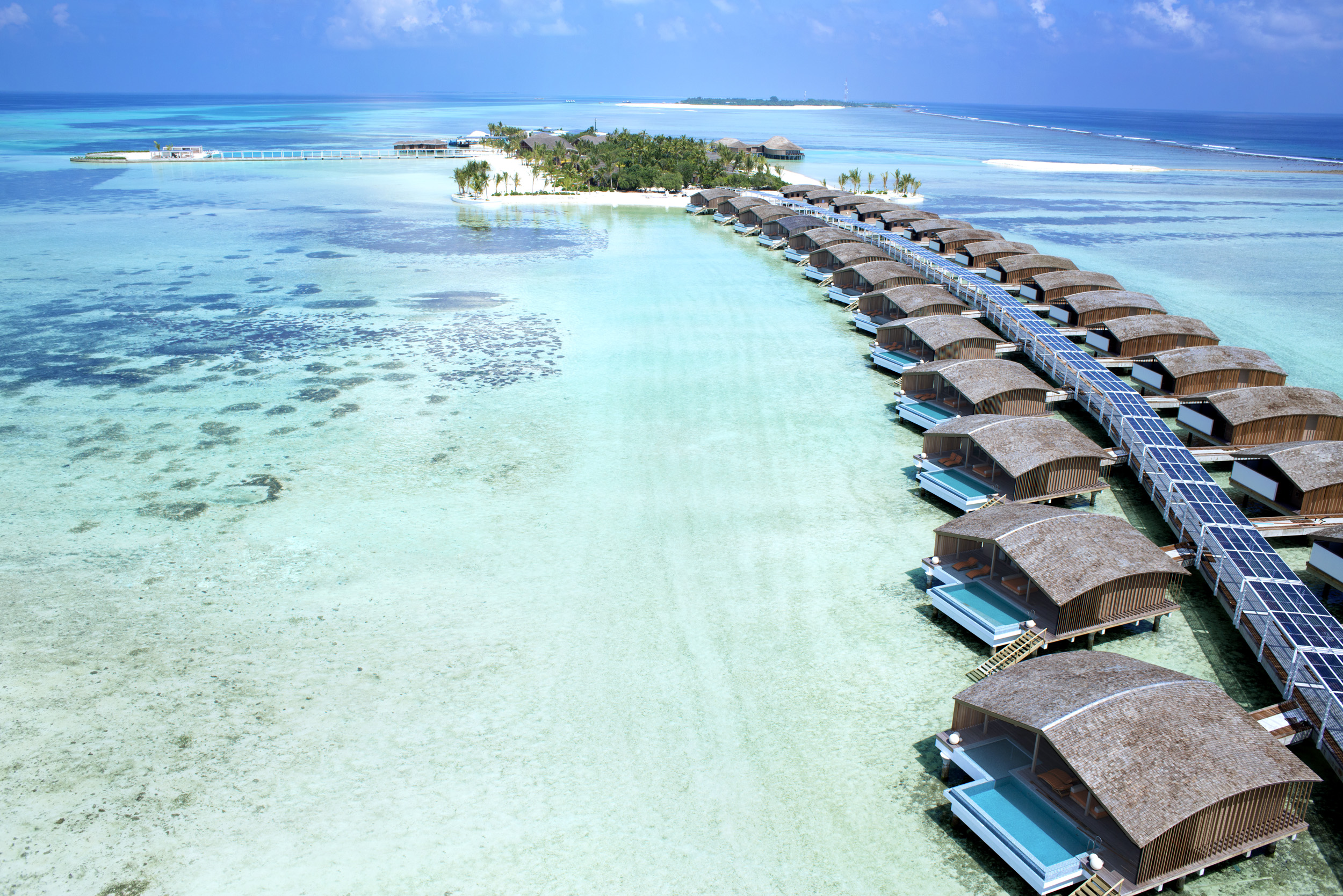 Solar-Powered Villas in Maldives (via Travel Centre Maldives)