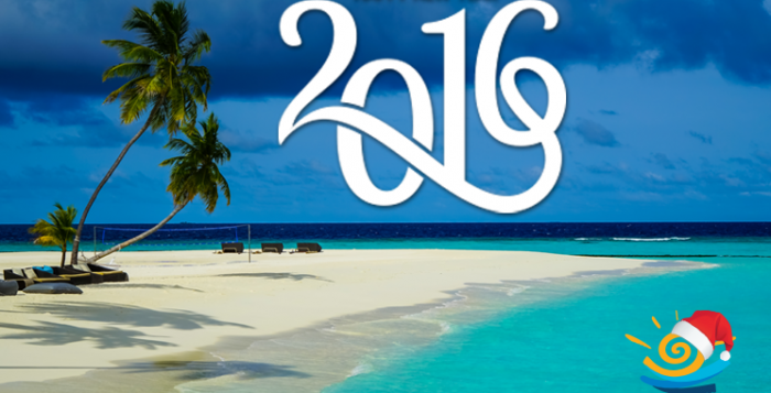 Happy New Year 2016 from Travel Centre Maldives