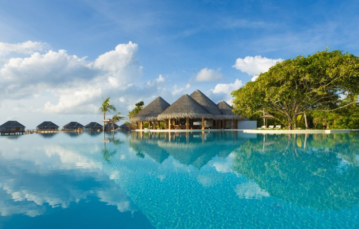 Wallow in absolute luxury at Dusit Thani Maldives