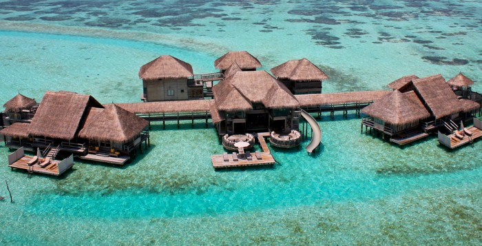 The largest water villa in the world