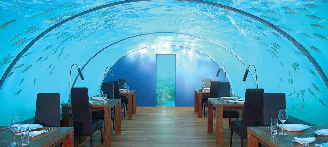 Ithaa, the undersea restaurant