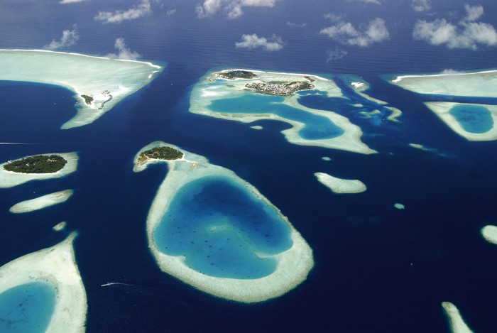 How was Maldives Formed?