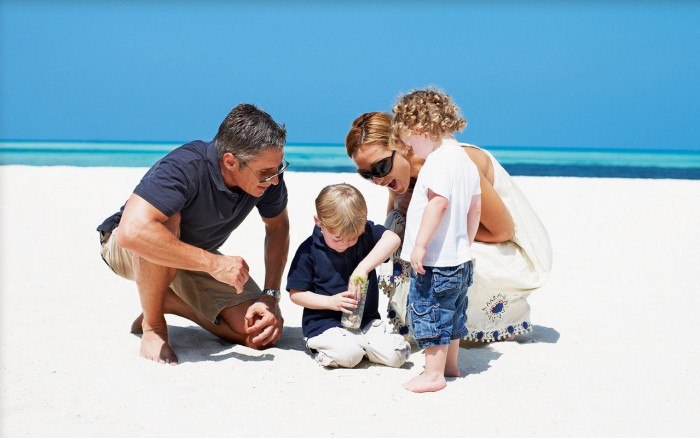 The Maldives – a tropical paradise for families