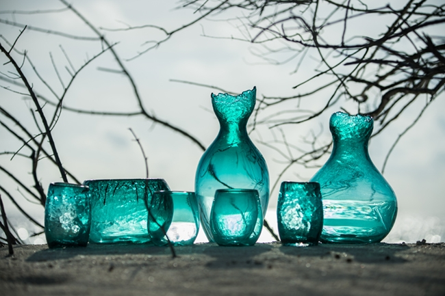Glass Products - Soneva Fushi Maldives