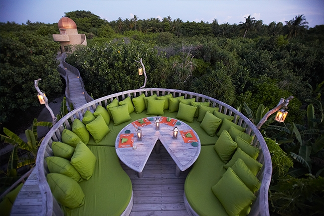 The Garden Restaurant - Soneva Fushi Maldives